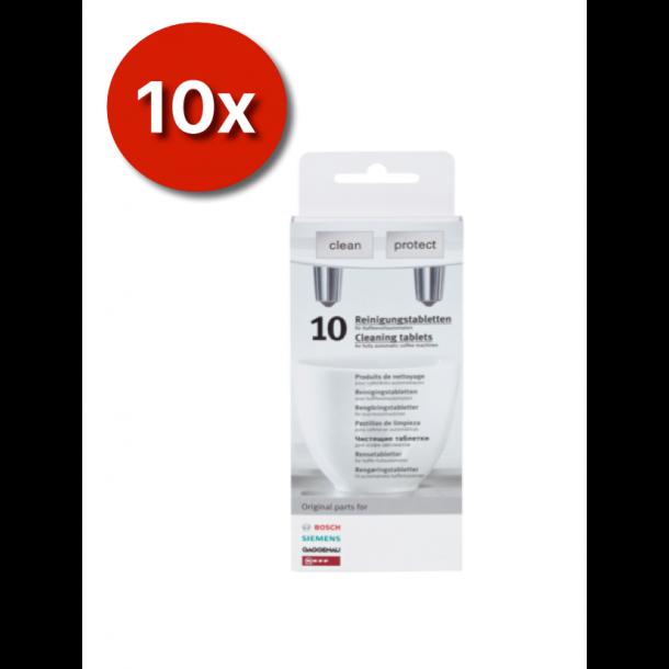 10 X 10 Siemens rengøringspiller