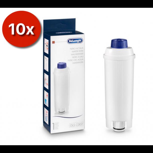 10 stk DeLonghi Vand- og kalkfiltre DLS C002