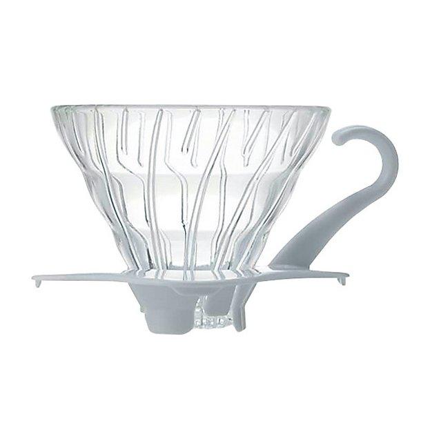 Hario V60 Dripper Glas Hvid - 1 kop
