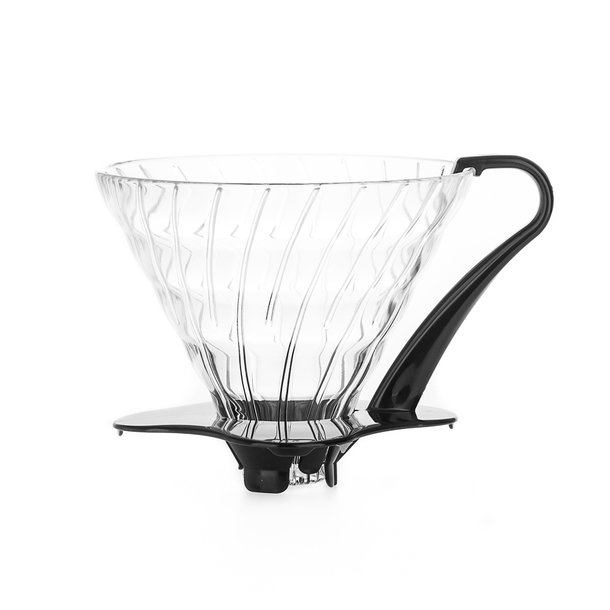 Hario V60 Dripper Glas Sort - 3 kop
