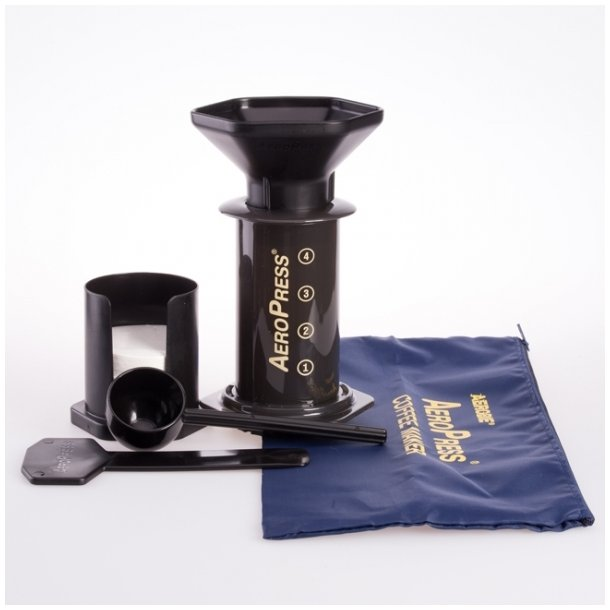 AeroPress Kaffebrygger inklusiv opbevaringspose