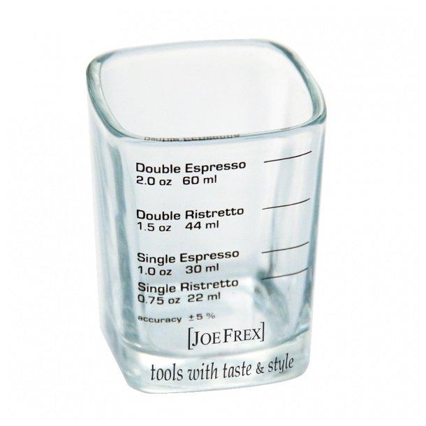 Joe Frex Espressoglas - med volumenmål
