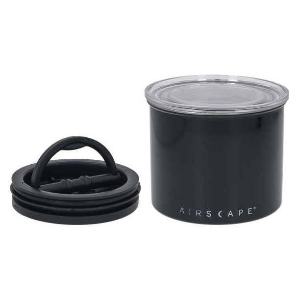 Airscape Opbevaringskrukke - 250 g / 85 ml Sort