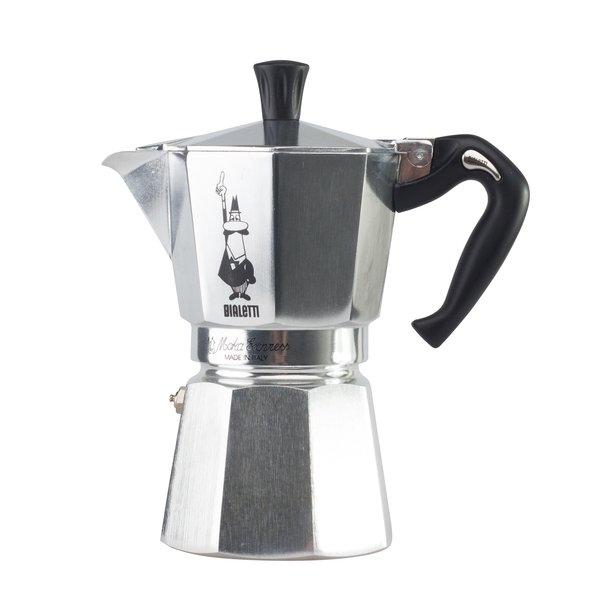 Bialetti Moka Express 4 kopper, espressokande
