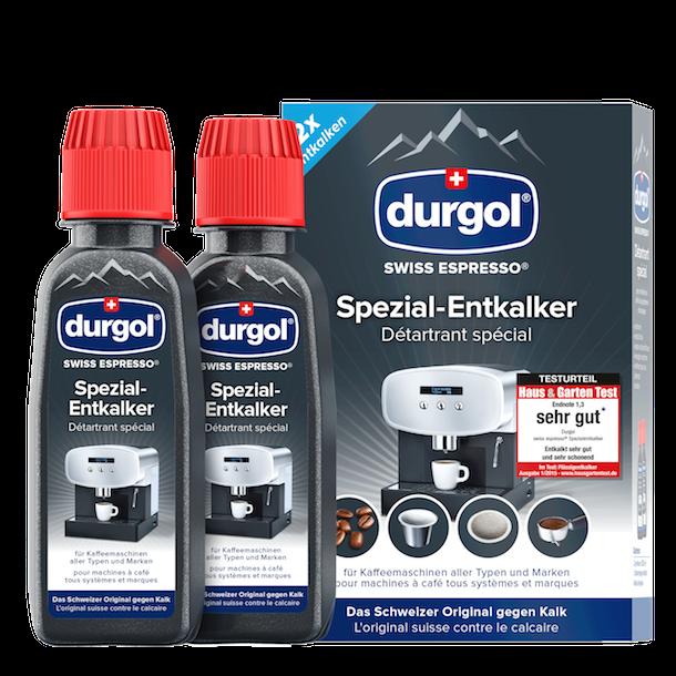 Durgol Afkalker 2 * 125ml - Afkalkning til Dolce Gusto mm.