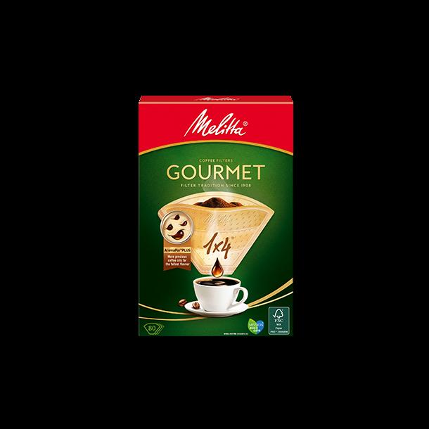 Melitta kaffefilter Gourmet 1x4