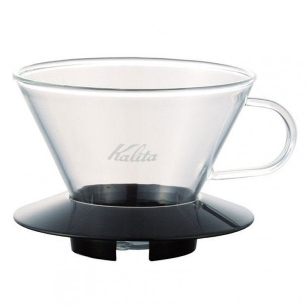 Kalita Wave 185 Filtertragt Sort - Glas
