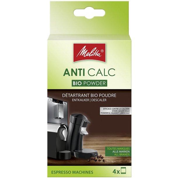 Melitta Anti Calc Bio pulver 4 * 40g