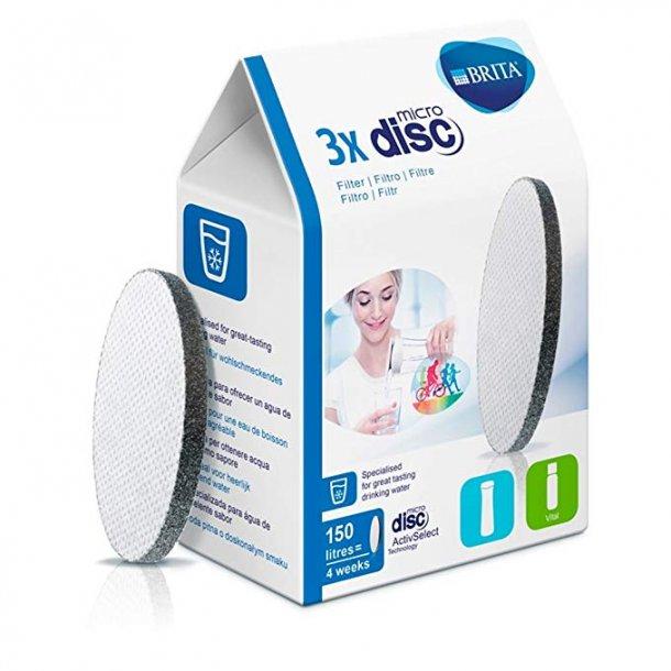 Brita Microdisc Filter til Fill & Go - 3 stk