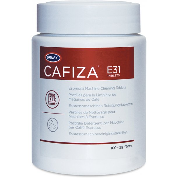 Urnex Cafiza tabletter 2 g - 100 stk